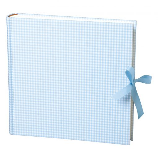 Album Xlarge,booklinen cover,130pages,cream white mounting board,glassine paper,Vichy blue | 4250053628515 | 351065