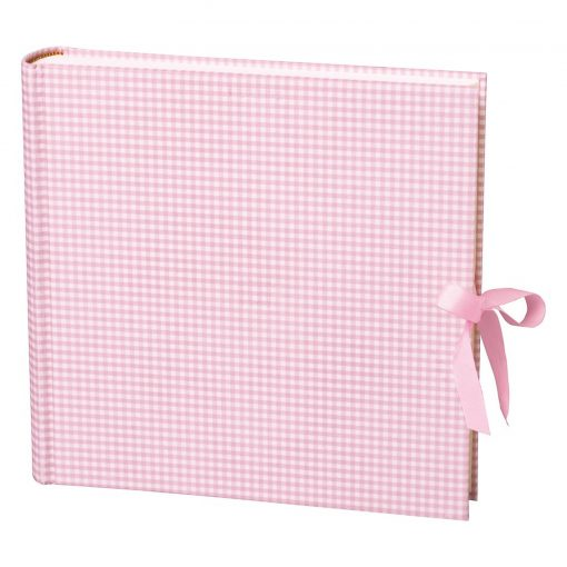Album Xlarge,booklinen cover,130pages,cream white mounting board,glassine paper,Vichy pink | 4250053628508 | 351064