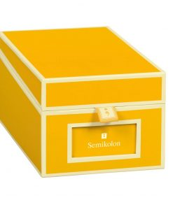 Business Card Box with 3 variable tabs and index cards A-Z, sun | 4250053636138 | 352637
