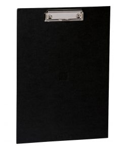 Clipboard with metal clip, efalin cover, black | 4250053631058 | 352767