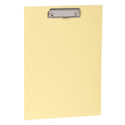 Clipboard with metal clip, efalin cover, chamois | 4250053645680 | 352774