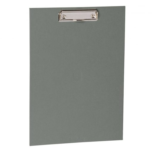 Clipboard with metal clip, efalin cover, grey | 4250053626221 | 352772