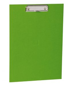 Clipboard with metal clip, efalin cover, lime | 4250053631096 | 352771