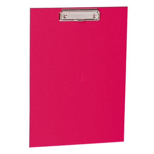 Clipboard with metal clip, efalin cover, pink | 4250053631041 | 352766