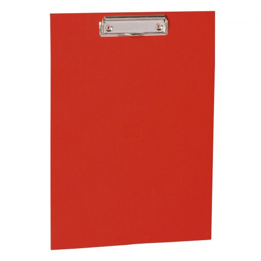 Clipboard with metal clip, efalin cover, red | 4250053631027 | 352764