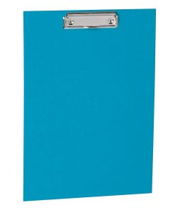 Clipboard with metal clip, efalin cover, turquoise | 4250053696651 | 352776