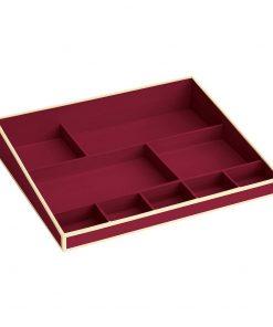 Desktop Organizer, 9 compartments, burgundy | 4250540914732 | 352529