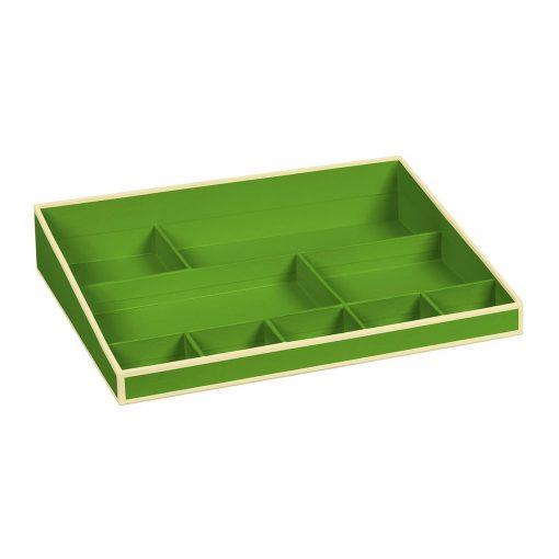 Desktop Organizer, 9 compartments, lime | 4250540914794 | 352535