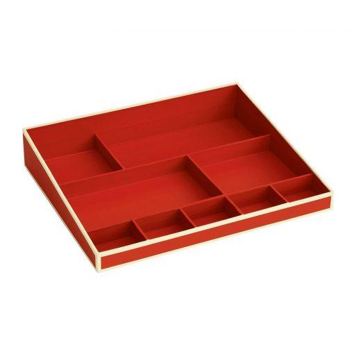 Desktop Organizer, 9 compartments, red | 4250540914725 | 352528