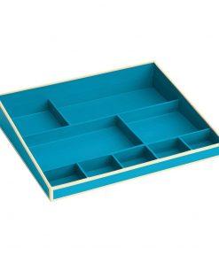 Desktop Organizer, 9 compartments, turquoise | 4250540914848 | 352540