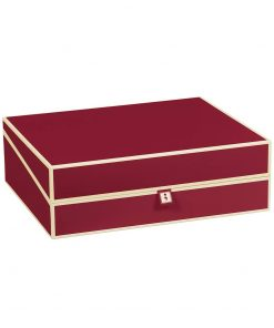 Document Box (A4) and letter size, burgundy | 4250053692882 | 352573