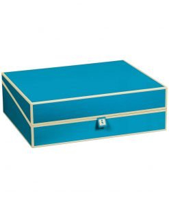 Document Box (A4) and letter size, turquoise | 4250053696842 | 352591