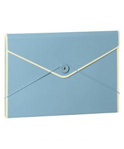 Envelope Folder with elastic band closure, ciel | 4250053631751 | 353196