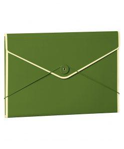 Envelope Folder with elastic band closure, irish | 4250540923369 | 353195
