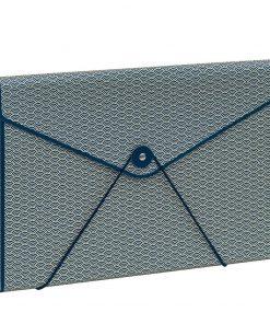 Envelope Folder with elastic band closure, marine | 4250540927190 | 354899