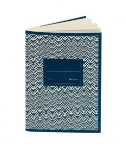 Exercise Book (A6) with a Tag to personalize, ruled, mar | 4250540927138 | 354812