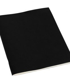 Filigrane Journal A4 with laid paper, 64 pages, plain, black | 4250053607060 | 351434