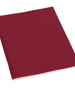 Filigrane, Journal A4 with laid paper, 64 pages, plain, burgundy | 4250053607046 | 351432