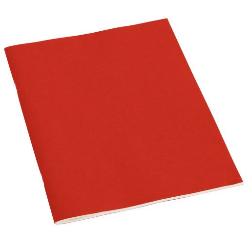 Filigrane Journal A4 with laid paper, 64 pages, plain, red | 4250053607039 | 351431
