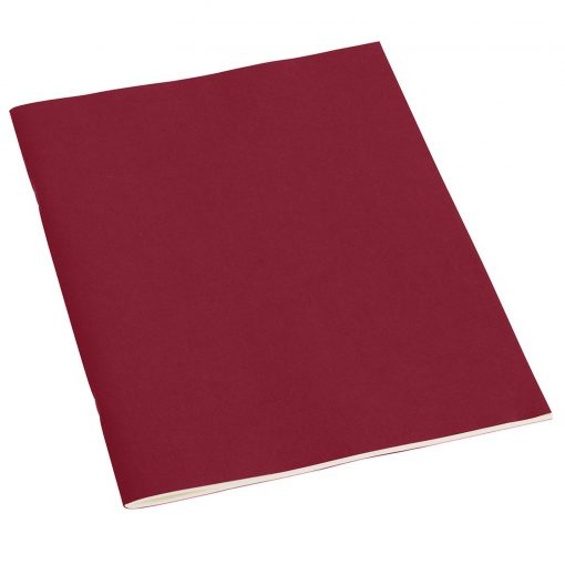 Filigrane Journal A4 with laid paper, 64 pages, ruled, burgundy | 4250540910727 | 351839