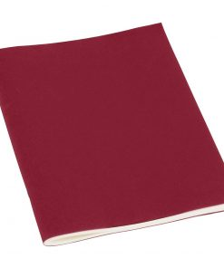 Filigrane Journal A5 with laid paper, 64 pages, plain, burgundy | 4250053607381 | 351447