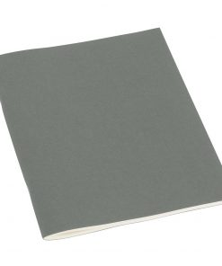 Filigrane Journal A5 with laid paper, 64 pages, plain, grey | 4250053623398 | 351454