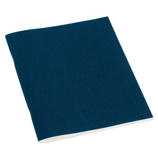 Filigrane Journal A5 with laid paper, 64 pages, plain, marine   4250053607367   351445