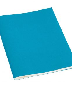 Filigrane Journal A5 with laid paper, 64 pages, plain, turquoise | 4250053696439 | 351458