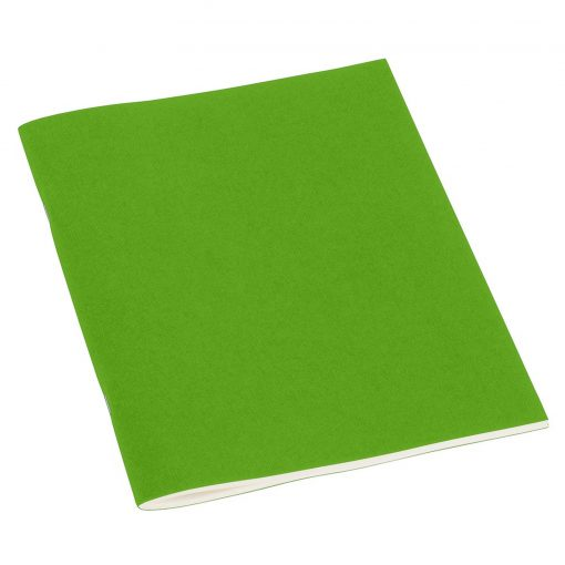 Filigrane Journal A5 with laid paper, 64 pages, ruled, lime   4250540910253   351830