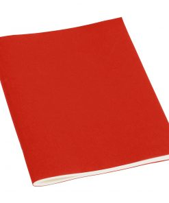 Filigrane Journal A5 with laid paper, 64 pages, ruled, red | 4250540910208 | 351823