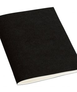Filigrane Journal A6 with laid paper, 64 pages, plain, black | 4250053610510 | 351419