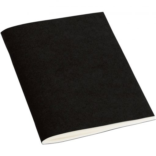 Filigrane Journal A6 with laid paper, 64 pages, plain, black   4250053610510   351419