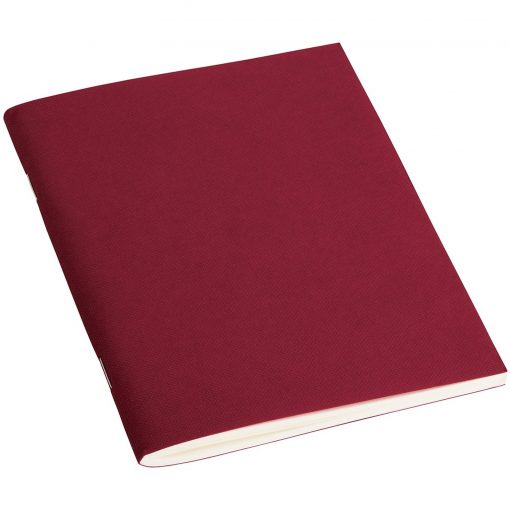 Filigrane Journal A6 with laid paper, 64 pages, plain, burgundy | 4250053610503 | 351417