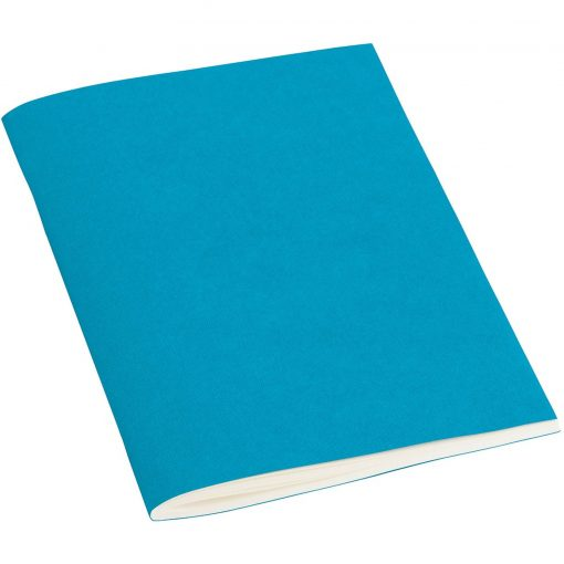 Filigrane Journal A6 with laid paper, 64 pages, plain, turquoise | 4250053696422 | 351428