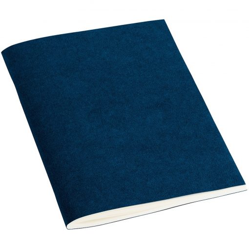 Filigrane Journal A6 with laid paper, 64 pages, ruled, marine   4250540910079   351807