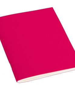 Filigrane Journal A6 with laid paper, 64 pages, ruled, pink | 4250540910093 | 351810