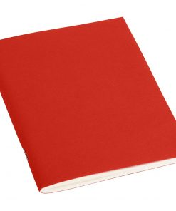 Filigrane Journal A6 with laid paper, 64 pages, ruled, red | 4250540910086 | 351808
