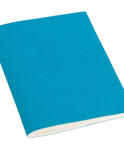 Filigrane Journal A6 with laid paper, 64 pages, ruled, turquoise | 4250540910178 | 351820