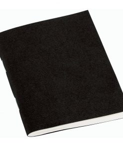 Filigrane Journal A7 with laid paper, 64 pages, plain, black | 4250540928494 | 354797
