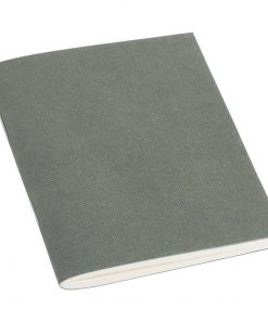 Filigrane Journal A7 with laid paper, 64 pages, plain, grey | 4250540928548 | 354802