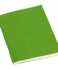 Filigrane Journal A7 with laid paper, 64 pages, plain, lime | 4250540928531 | 354801