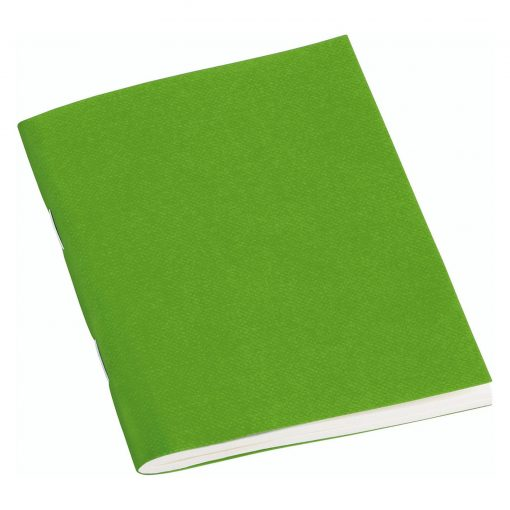 Filigrane Journal A7 with laid paper, 64 pages, plain, lime   4250540928531   354801