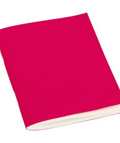Filigrane Journal A7 with laid paper, 64 pages, plain, pink | 4250540928487 | 354796