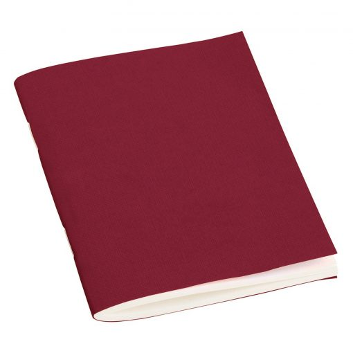 Filigrane Journal A7 with laid paper, 64 pages, ruled, burgundy | 4250540910574 | 351794