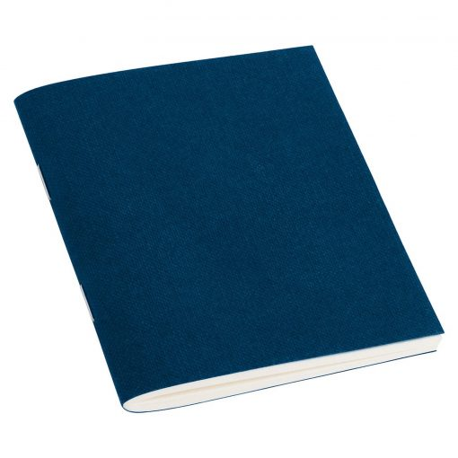 Filigrane Journal A7 with laid paper, 64 pages, ruled, marine | 4250540910550 | 351792