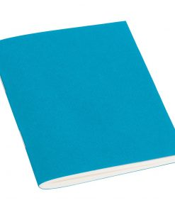 Filigrane Journal A7 with laid paper, 64 pages, ruled, turquoise | 4250540910673 | 351805