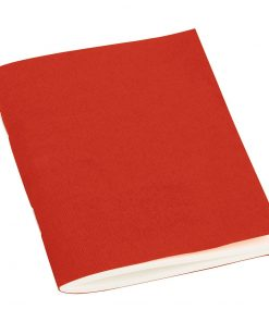 Filigrane Journal A7 with laid papier, 64 pages, ruled, red | 4250540910567 | 351793