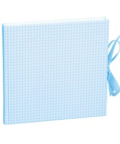 Guestbook, 240 pages, vichy blue | 4250053602980 | 353553