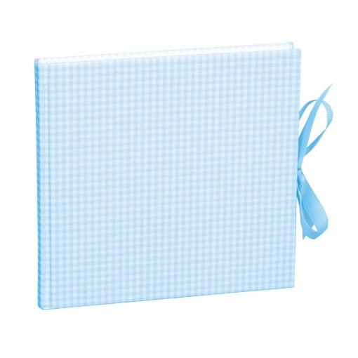 Guestbook, 240 pages, vichy blue   4250053602980   353553