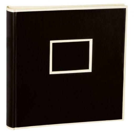 Jumbo Photo Album, size 30x30cm, photo mounting board, glassine paper, black | 4250053691496 | 351099